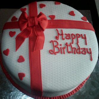 red birthday cake nigeria